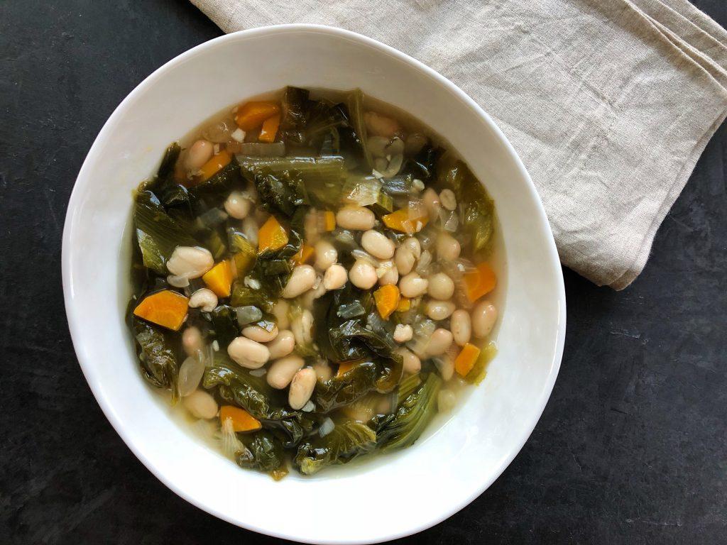 Escarole White Bean Soup