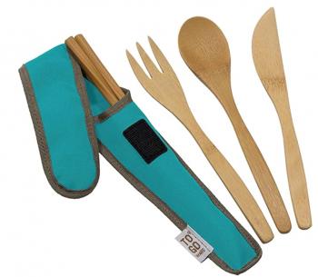 Bamboo Travel Utensil Kit